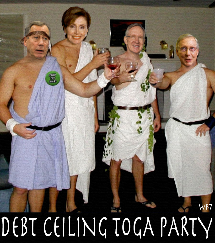 DEBT CEILING TOGA PARTY