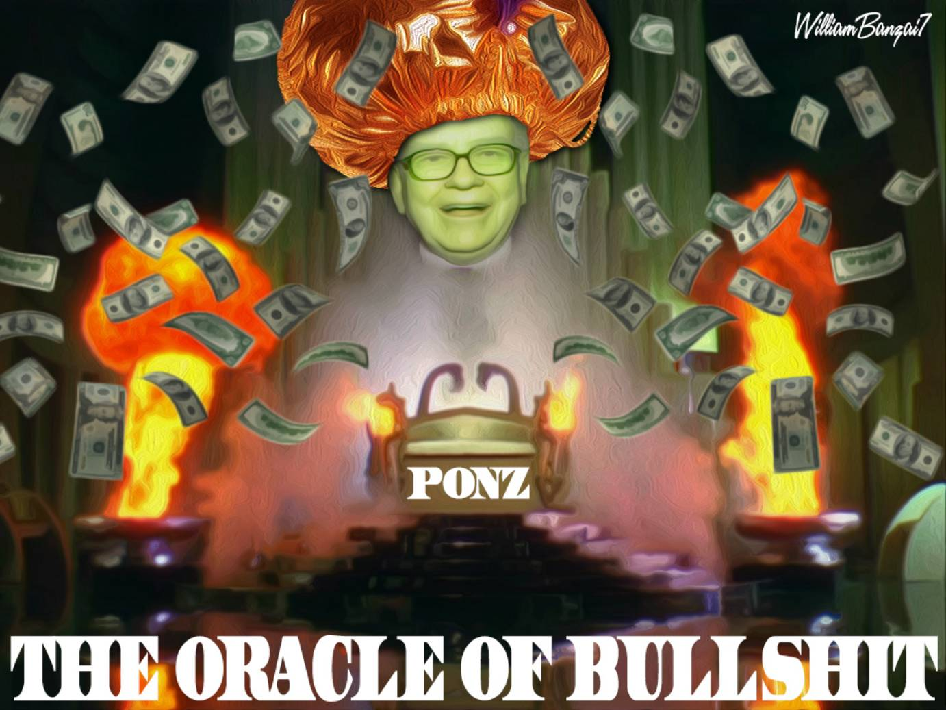 THE WIZARD OF PONZ (AKA THE ORACLE OF BULLSHIT)