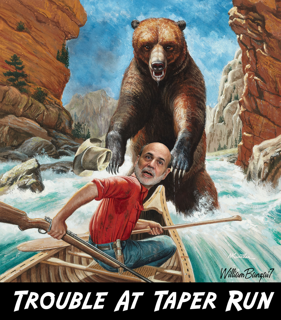 TROUBLE AT TAPER RUN